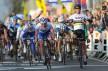 Mark Cavendish vinner Kuurne-Brussel-Kuurne 2012. (©TDWSport.com)