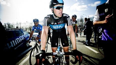 <b>FIKK ENDELIG SJANSEN:</b> Med Ben Swift i brudd, lå alt åpent for at Edvald Boasson Hagen skulle få kjempe om etappeseier i Giro d'Italia, onsdag. Foto: Thomas Rasmus Skaug / Dagbladet