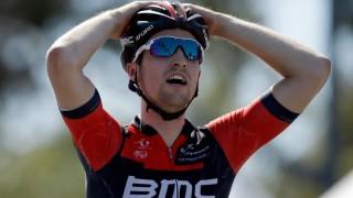 <b>I SITT LIVS FORM:</b> Taylor Phinney håpet å bli amerikansk mester før Critérium du Dauphiné og Tour de France. I stedet krasjet han stygt og må belage seg på et langt opphold på sykestua. Ezra Shaw/Getty Images/AFP
