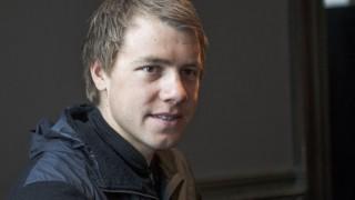 <b>KAPTEIN:</b> Edvald Boasson Hagen blir kaptein for Team Sky i Paris-Roubaix FOTO: Torgeir Strandberg/procycling.no