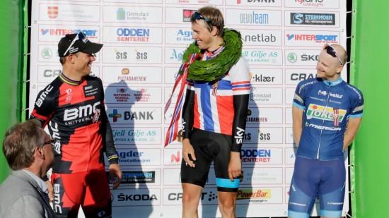 ELLEVE MÅNEDER SIDEN: Det er 336 dager siden Boasson Hagen sist triumferte på sykkelsetet. Det vil han gjøre noe med på de gjenstående etappene i årets Giro d'Italia. Foto: Tor Erik Schrøder/NTB Scanpix