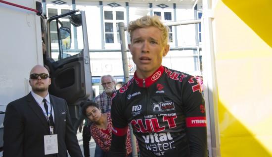 HVEM? Magnus Cort Nielsen har latt seg gjenkjenne av manged denne sesongen. Men ikke for fredagens etappevinner i Ronde de l´Oise. Foto: Even Emberland, procycling.no