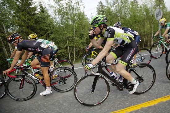 UVISS FRAMTID: Njål Eivind Kleiven fikk sjansen til å vise seg fram i sammendraget under Tour of Norway. Nå er høstsesongen i fare. FOTO: Kristoffer Øverli Andersen, www.procycling.no