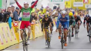 <b>SEIERSMASKIN:</b> Alexander Kristoff har vunnet Tour de Fjords sammenlagt og totalt fem etapper i norske etapperitt de siste ukene. Nå må Katjusja finne ut hvordan de skal hjelpe nordmannen til flere triumfer under sommerens Tour de France. FOTO: Kristoffer Øverli Andersen, WWW.PROCYCLING.NO