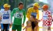 2005: Hushovd vinner ingen etapper, men står likevel på podiet på Paris etter siste etappe. Nordmannen vinner nemlig den grønne poengtrøyen. Foto: Tim de Waele (©TDWSport.com)