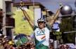 2002: Etter å ha slitt voldsomt i starten, slår Hushovd grusomt tilbake på den 18. etappen i Tour de France. Nordmannen tar sin første etappeseier i Bourg-en-Bresse. Foto: Tim de Waele (©TDWSport.com)