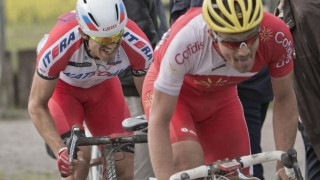 <b> EN KRIG: </b> Dagens etappe i Tour de France, som går over flere brosteinspartier, kommer til å bli en skikkelig krig. En krig der Alexander Kristoff er blant de største favorittene. Foto: Daniel Sannum Lauten / NTB scanpix