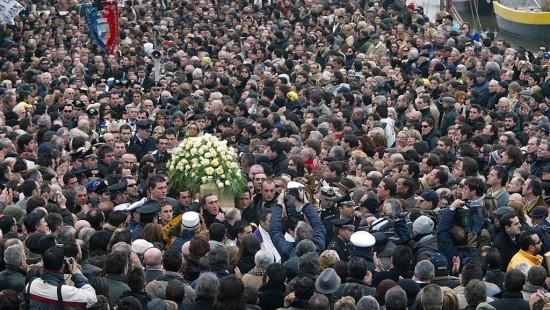 Marco Pantani begravelse
