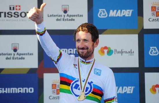 SLANK: Wiggins er fem kilo tyngre før Paris-Roubaix enn det han var under VM-tempoen i fjor som han vant. FOTO: TDW Sport