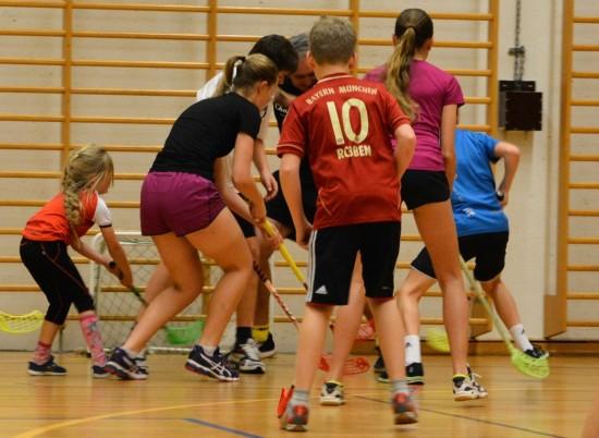 SMÅ OG STORE I AKSJON: Her er framtida i Stavanger Sykkelklubb. FOTO: Einar Oliver Landa