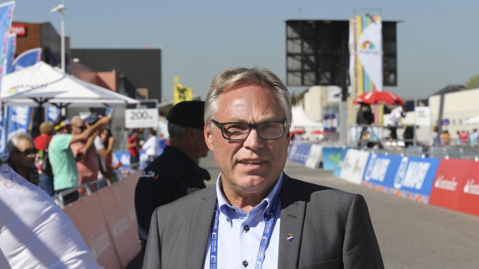 SIER JA: Harald Tiedemann Hansen og Norges Cykleforbund sier ja til å støtte prosjektet om en velodrom på Sola. Foto: Vidar Ruud / NTB scanpix