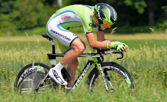 FOKUSOMRÅDE: Den unge italieneren vet at han må heve tempoprestasjonene skal han bli en fremtidig Grand Tour-vinner. Foto: Tim de Waele (©TDWSport.com)