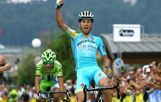 KUN SLÅTT AV NIBALI: Så nærme var Formolo å bli italiensk mester i 2014. Også i år bør løypa i det nasjonale mesterskapet passe talentet. Foto: Tim de Waele (©TDWSport.com)