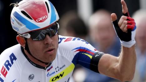 KLASSIKERKONGE: Alexander Kristoff har hatt en eventyrlig vårsesong og har vært på pallen i nesten halvpartene av rittene han har stilt opp i. Nå tar nordmannen seg en rolig periode før oppkjøringen til Tour de France starter. FOTO: Reuters