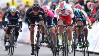 <b> NY SEIER: </b> Alexander Kristoff vant sin tredje etappeseier på rad i Driedaagse De Panne. Foto: Tim De Waele/TDWSPORT.COM.