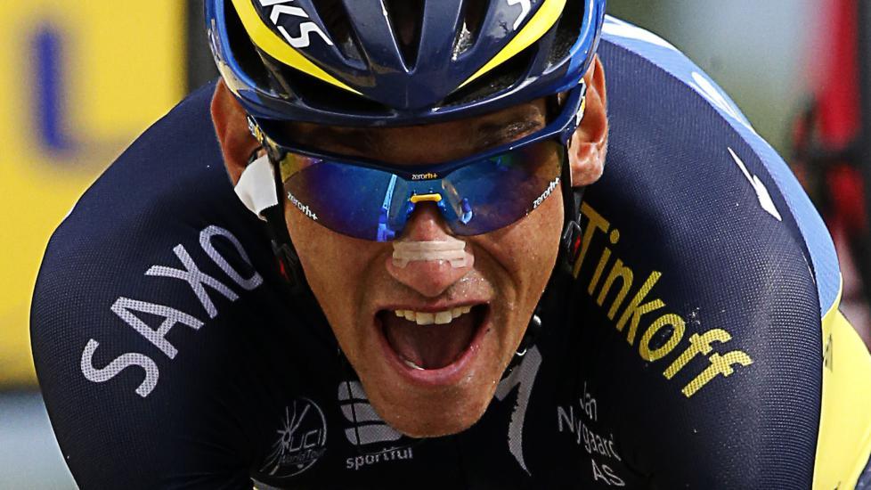 GÅR FRI: Roman Kreuziger var lenge mistenkt for bloddoping, men nå velger UCI og WADA å droppe saken mot den tsjekkiske syklisten. AFP PHOTO / PASCAL GUYOT