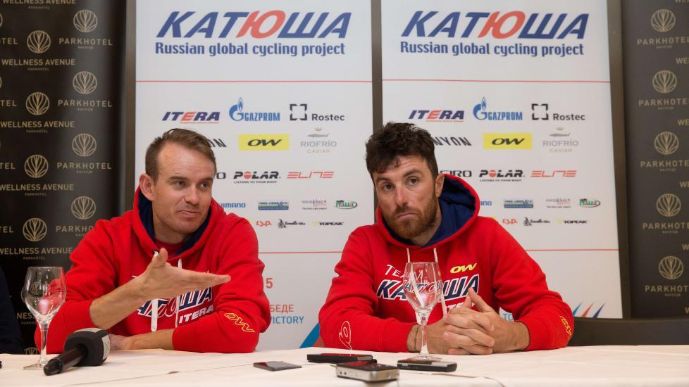 KOKAIN-TATT: Luca Paolini skal ha avgitt en positiv dopingprøve for bruk av kokain. AFP PHOTO / BELGA / KURT DESPLENTER