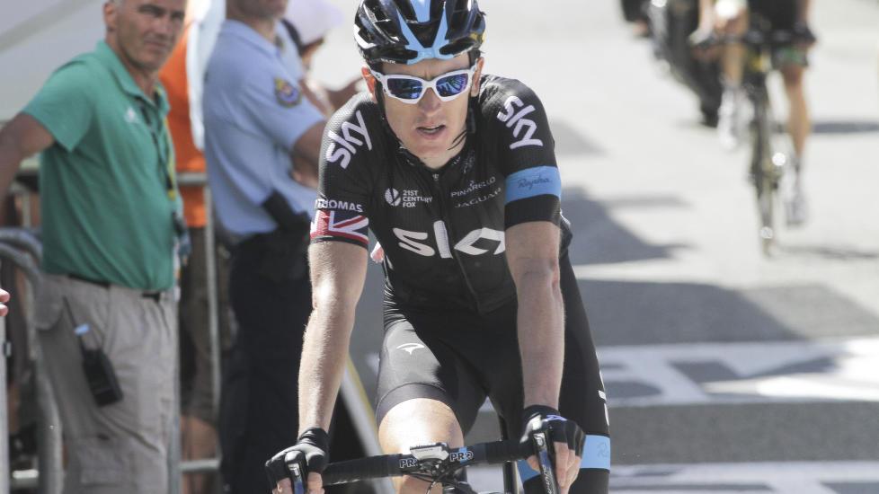 OPPGITT: Geraint Thomas er oppgitt over Hooligans i sykkelsporten. Foto: Scanpix