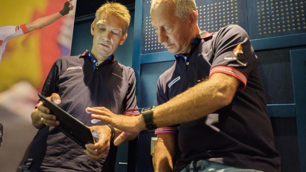 <b>IKKE PLASS TIL ALLE:</b> Fortsatt har Norge ledige plasser i både tempo og fellesstart under VM i Richmond. Landslagssjef Stig Kristiansen og sportssjef i sykkelforbundet, Hans Falk, offentliggjorde troppen, onsdag ettermiddag.