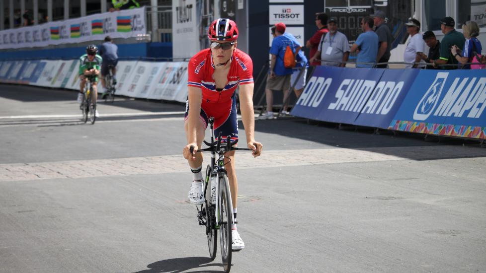 Tobias Foss. Foto: Per Erik R. Mæhlum/Norges Cykleforbund