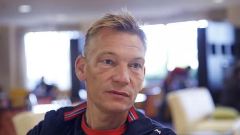 MANN FOR SITT ORD: Stig Kristiansen har ingen problemer med å stå for utskjellingen han leverte av de norske U23-guttene, etter at 39. plass ble det beste resultatet. Foto: Terje Pedersen / NTB scanpix