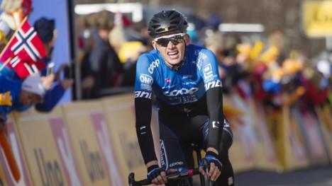 <b>DA HAN BLE OPPDAGET:</b> Det var gjennom strålende kjøring i Tour of Norway profflaget Delko Marseille først fikk opp øynene for Fredrik Strand Galta. Femteplassen på den fjerde etappen la grunnlaget for en fjerdeplass sammenlagt. Foto: Kristoffer Øverli Andersen (www.procycling.no)