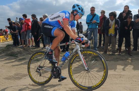 DER HAN TRIVES BEST: I klassikerne har Dylan Van Baarle sin store fremtid. Her fra Paris-Roubaix. Foto: Tim de Waele (©TDWSport.com)