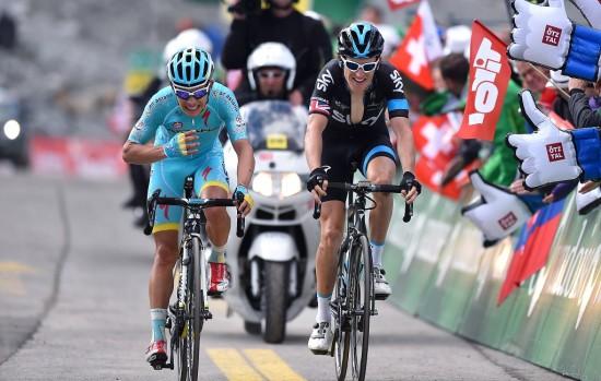 TIL TOPPS MED THOMAS: Miguel Angel Lopez med en sterk prestasjon i Sveits rundt. Foto: Tim de Waele (©TDWSport.com)