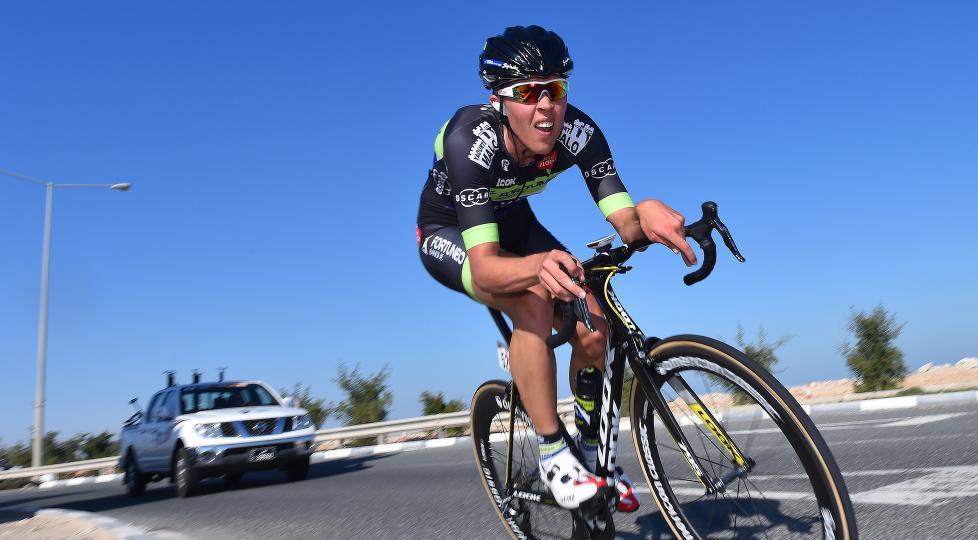 SATT TILBAKE: Skadene og vrakingen fr Vuelta a España gjorde 2015 til et tøft sykkelår for Vegard Breen. Nå er han på vei tilbake. Foto: Tim de Waele (©TDWSport.com)