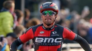 BARE NESTEN: Greg Van Avermaet vant Het Nieuwsblad tidligere i år, men maktet ikke å gjenta bragden under Dwars door Vlaanderen onsdag. Dog var han nære på!  EPA/LAURENT DUBRULE