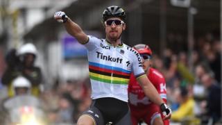 VANT: Peter Sagan vant årets Flandern rundt. Her fra Gent-Wevelgem. Foto: Tim de Waele (©TDWSport.com)