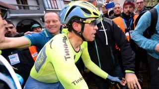 TANKEVEKKER: Alberto Contador innfridde favorittstempelet på siste etappe i Baskerland, men fikk noe å tenke på fra en av sine største rivaler. Foto: PD (©TDWSport.com)