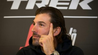 SISTE DE RONDE: Fabian Cancellara viste seg fra en avslappet side to dager før hans aller siste deltakelse i Flandern rundt (foto: AFP/Kurt Desplenter)