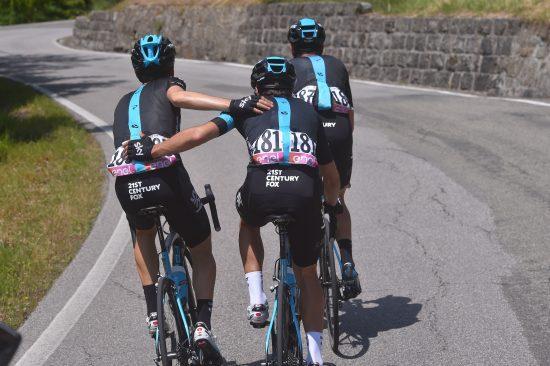 Cycling: 99th Tour of Italy 2016 / Stage 10 Mikel LANDA MEANA (ESP)/ Mikel NIEVE ITURRALDE (ESP)/ David LOPEZ GARCIA (ESP)/ Campi Bisenzio - Sestola 998m (219km)/ Giro / © Tim De Waele