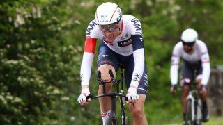 INNBITT: Vegard Stake Laengen hadde spart krefter og stått opp ekstra tidlig for å prestere på søndagens tempo i Giro d'Italia. Det gikk over all forventning. Foto: Tim de Waele (©TDWSport.com)