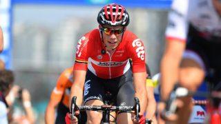 I KOMA: Stig Broeckx ligger i koma etter den stygge ulykken i Baloise Belgium Tour. Foto: LC (©TDWSport.com)