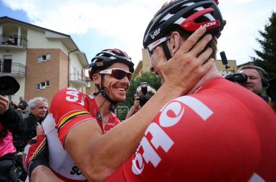 MER KLEMMING? Det er i hvert fall en veldig rutinert gjeng André Greipel har rundt seg. FOTO: Tim de Waele (TDWSport.com)
