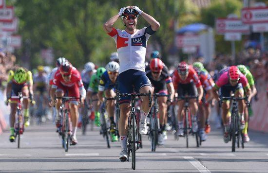 PUNCH: Roger Kluge må gjerne få gjenta dette, men blir først og fremst hentet som en viktig brikke i opptrekket. FOTO: Tim de Waele (TDWSport.com)