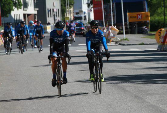 TO VIKTIGE BRIKKER: Håvard Blikra står for rutinen og Øivind Lukkedal er en av de som kan bli veldig nyttig i kuperte ritt. FOTO: Jarle Fredagsvik, procycling.no