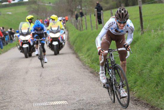 INTRODUKSJONEN: I Amstel Gold Race 2012 var første gang han fikk sykkelverdens oppmerksomhet. FOTO: Tim de Waele (TDWSport.com)