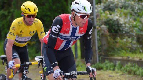 LOVES SJANSER: Edvald Boasson Hagen er ikke med til Tour de France bare for å hjelpe Mark Cavendish. Foto: Tim de Waele (©TDWSport.com)