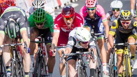I ANDRE REKKE: Alexander Kristoff ble plassert flott, men manglet trøkket til konkurrentene på slutten. Foto: Audun Braastad / NTB scanpix