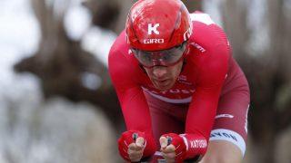 BRUTT: Michael Mørkøv har brutt årets Tour de France. Her fra en tidligere anledning. Foto: KENZO TRIBOUILLARD (Scanpix/Epa)