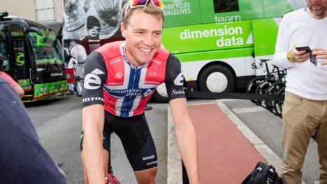 I BRUDD: Boasson Hagen ga alt på den 10. etappen i Tour de France. Foto: Audun Braastad / NTB scanpix