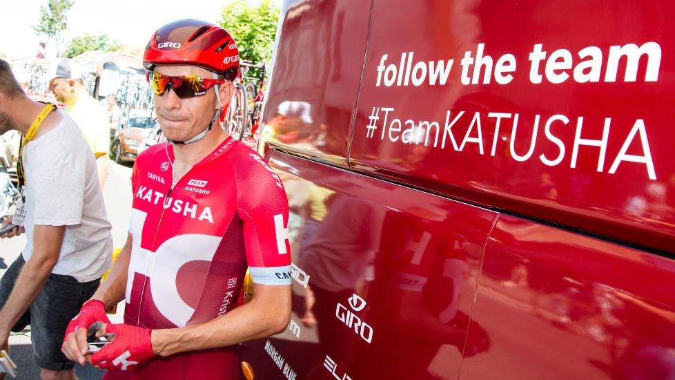 ØNSKER DANSK HJELP: Alexander Kristoff. Her avbildet før den sjette Tour de France-etappen.