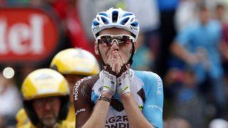 FRANKRIKES REDNING: Det hadde vært en dårlig Tour de France for Frankrike før Romain Bardet vant den 19. etappen og deretter sikret andreplassen sammenlagt. Foto: Juan Medina (Scanpix/Reuters)