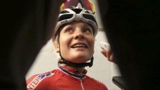 NÅDDE IKKE FREM: Emilie Moberg klarte ikke å prege spurten i La Course by Le Tour de France. FOTO: Terje Pedersen / NTB scanpix