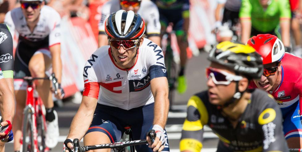 KNUST: Sondre Holst Enger var knust etter den siste etappen av Tour de France. Her fra en tidligere etappe av touren. Foto: Braastad, Audun (NTB Scanpix)