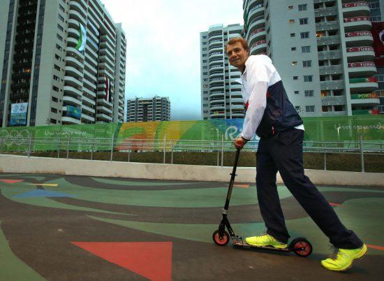 NY OL-GREN? Etter den norske sykkelinnsatsen i Rio får vi håpe at sparksykkel blir OL-gren neste gang. Foto: Erik Johansen / NTB scanpix