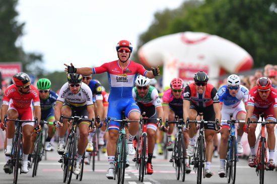 WORLD TOUR-SEIER: Dylan Groenewegen vinner etappe i Eneco Tour. Foto: Tim De Waele (©TDWSport.com)